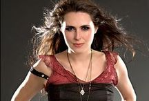 Sharon den Adel / Sharon den Adel is the lead singer of Within Temptation and she's wonderful.
