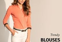 Trendy Blouses / Explore our new Blouse collection! All garments made to fit your measurements.  More here: http://www.sumissura.com/en/collections/custom-blouses/trendy-blouses