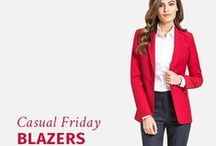 Casual Friday Blazers / Find more at Sumissura.com All garments made to fit your unique measurements