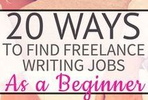 Writing Careers & Freelancing / Freelancing and other ways to earn a living with writing.