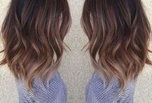 Hairstyles and hair colors