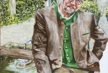 Künstlerportraits / Hier werden großartige Künstler vorgestellt, die begeistert mit den Farben von KREUL malen.