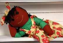 Sugarfoots Dolls / Sugarfoots are created in a variety of complexions including Cocoa, Ginger, Sugarcream. These dolls are perfect for ages from 4-94! We cordially invite you to kick back and relax and enjoy discovering this wonderful world of colors :)