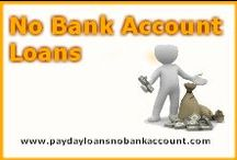Payday Loans No Bank Account / Payday loans no bank account will find you simple money assist for citizens of US who are looking out for monetary assist. We arrange payday loans, no bank account loans and cash loans no bank account. Apply now http://www.paydayloansnobankaccount.com