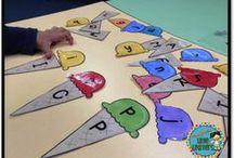 ✪ K-2 Literacy Center Ideas / Here you will find loads of teaching ideas for your literacy group activity centers.