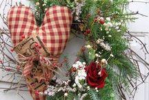 wonderful wreaths & door decor 1 / wreaths & door decor / by linda french merritt