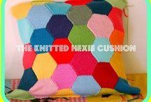 cushions! / Each year Ann-Marijke organises a craft project for the Pittenweem Arts Festival.  For 2013 its Cushions!  You can knit, crochet and sew.  Follow the project on our website - www.thewoollybrew.co.uk