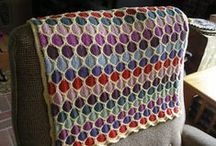 blankets / Crochet and knit blankets... Big and small