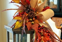 Decorations for autumn time