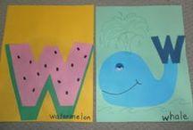 ✪ Alphabet Craft UVWXYZ / Letter crafts: Letters U,V,W,X,Y & Z