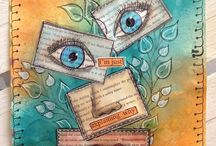 Scrapbooking. Art journal