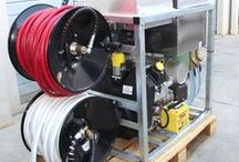 Jetter Building at Pulse Power Equipment Qld