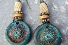 Jewelry. Polymer clay