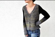 cardigans & jumpers / A collection of knitted and crocheted cardigans and jumpers for adults.  These patterns are available to buy or are  free.  Some may even be available in the shop!  Check the description for details.