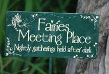 wee folk & fairies 2 / fairies & fairy homes / by linda french merritt