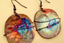 Jewelry. Glass, stone, metal, ceramic