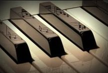Music and the piano.....and the drums....