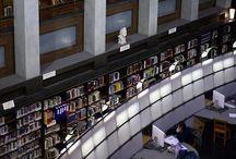 Libraries.....book corners....books....bookstores.....