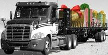 Trucking Cards / A successful business depends on maintaining customer relations over the long haul and one way to build a loyal customer base is to connect with clients over the holiday season. Shop our line of unique trucking Christmas cards by Ziti and you're sure to find a card that expresses just the right sentiment. Printed on premium card stock, trucking Christmas cards by Ziti feature original trucking-themed artwork with a festive holiday feel.