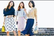 FASHION/ファッション / ファッション誌「AneCan」から、おすすめのファッションコーディネートをお届けします。日々のコーディネートのご参考に☆