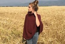 Poncho like / ponchos, capes and wraps.  All links lead to Ravelry...