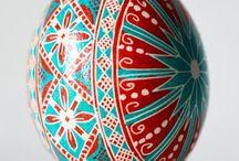 Ukrainian Easter eggs / писанки