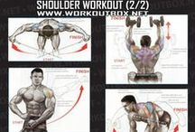 Workout Tips / Strength Exercises, FBW, Split, Aesthetic BodyBuilding, Proportional Sculpted Silhouette, Gym