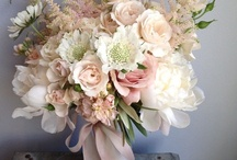 """Bouquets / For more bouquets in the 'colors' of your wedding, go to the individual wedding colors board also board of """"cascading' 'brooch' 'fabric', succulent, and white bouquets on pinterest.com/whitesatinweddi"""