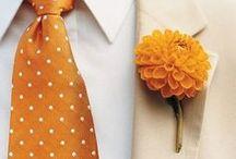 Wedding ORANGE / by White Satin Wedding Show
