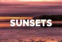 AMAZING SUNSETS / Amazing Sunsets Captured Around The Globe.   ☼☼☼  Sonnenuntergänge rund um die Welt.