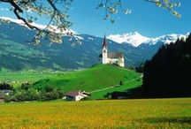 Austria / A place of happy holiday memories.  -I love the scenery, architecture, culture and way of life.