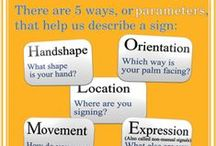 Sign language tips / Tips in learning and teaching sign language