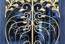 Decorative Details / Architectural and design features that appeal  - windows, balconies, stairways, ceilings, stonework, lamps, clocks  etc.  See also my two Boards:  Doorways and Gateways