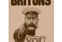 Wartime Posters / Look, too, at my Boards:  Remembrance and World War One