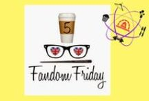 #Fandom5 / The Nerdy Girlie and Super Space Chick have teamed up to present a community building project - 5 Fandom Fridays!  The basic idea of 5 Fandom Fridays is to write a weekly Friday blog post in the form of a top 5 list based on a predetermined topic.