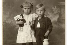 Children in Vintage Photographs / vintage Photographs  / by Susan Donaldson
