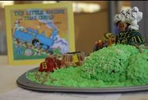 Edible Book Festival / On April 1st Morris Library will be hosting our 2015 Edible Book Festival. These are some of the remarkable entries from past years. We hope you can join us this year from 3:00-5:00 in the first floor rotunda. Entries due by the beginning of the festival. Have fun!