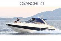 Cranchi 41' / Italian stream lined and sportive motorboat. It's distinguished for the outside comforts that are mostly dedicate for sun bathing, but it also maintains enough space for those who prefer shade.   1 double twin cabin 1 dinette transformable into a twin cabin, 1 full separate toilet, kitchen. Grill, sink  and fridge in the deck area. TV, DVD; HI-fi stereo. Motorized tender on garage, exterior shower.