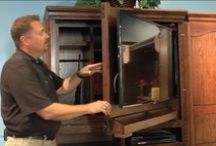 Demo Preview Videos by Furniture Traditions / Video preview demonstrations by Tim showing the special features of Furniture Tradtions' bedroom furniture