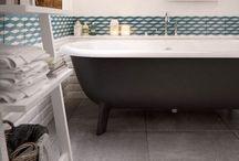 Bathroom Dreaming / Mid-Century Industrial Inspired Bathroom