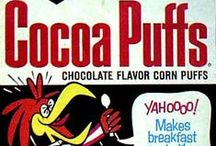 70's Childhood Cereal Boxes