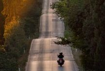 Take the Long Way Home / The lure of the road; solitude and companionship all rolled into one.