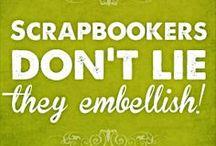 (: Scrap Happy :) / Craft room ideas, scrapbooking ideas / by Kimberly Gran