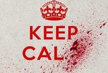 keep calm / keep calm and pin