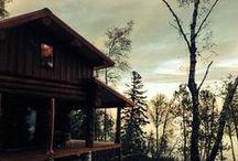 Log cabins / by Jodi Gearou