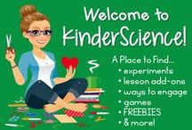 KinderScience / Welcome to KinderScience! A place where you can find more fun and engaging science activities than you'll ever need for the littles in your life. Interested in becoming a contributor? Send me an email: thebarefootteacher@gmail.com. Sellers, please keep your pinning of paid products to free ones at a 1:4 ratio. Enjoy! / by Becky Castle