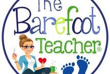The Barefoot Teacher Resources & Activities / The Barefoot Teacher offers a place where you can find more suggestions, ideas, and tips for your Kindergarten classroom than you'll ever need. Whether you're looking for beginning of the year activities or Kindergarten readiness ideas, you've come to the right spot! There are all types of pins for reading, writing, math & more!