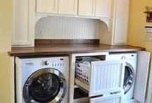 Laundry room / by Debbie Wood
