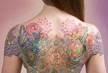 Body Art / Wonderfully done tattoos / by Katy Sewell