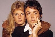 Paul and Linda McCartney! / Paul and Linda proved with their band Wings that you can be rockers and still hold it together with life, love and family!
